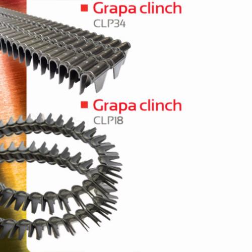 Grapa Clinch para Colchonería y Tapicería de Auto