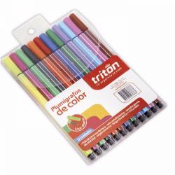 Plumígrafos de color